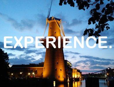 Homepage slogan_EXPERIENCE