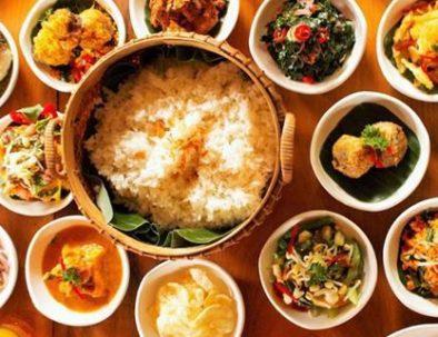 Indonesische rijsttafel
